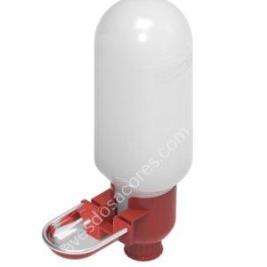 Bebedouro mini com taça inox 0,5Lt