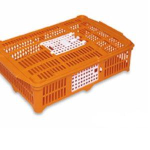 Jaula de transportadora plástico com 2 Portas