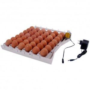 Tabuleiro de viragem automático 42 ovos /120 codorniz