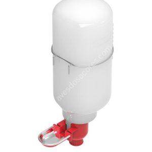 Bebedouro mini com taça inox 2Lt
