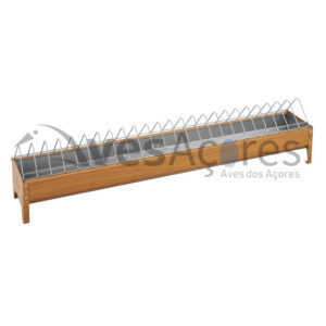 Comedouro Curral para aves 120cm