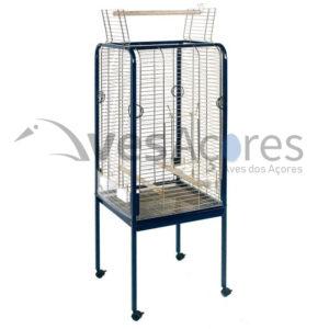Gaiola rectangular para papagaios