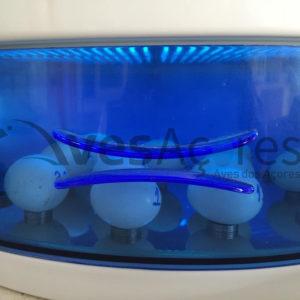 Câmara de desinfecção de Ovos – Radiação UV