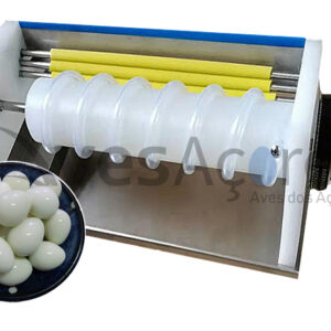 Maquina de descascar ovos semi- profissional
