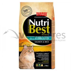 Picart Nutribest Premium Gato – Esterilizado Salmão E Arroz