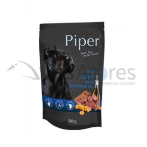 Piper Cão Adulto Alimentação Húmida – Borrego, Cenoura E Arroz Integral