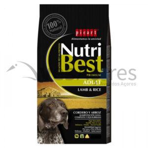 Picart Nutribest Premium Cão Adulto – Cordeiro E Arroz