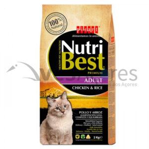 Picart Nutribest Gato Premium – Adulto Frango E Arroz